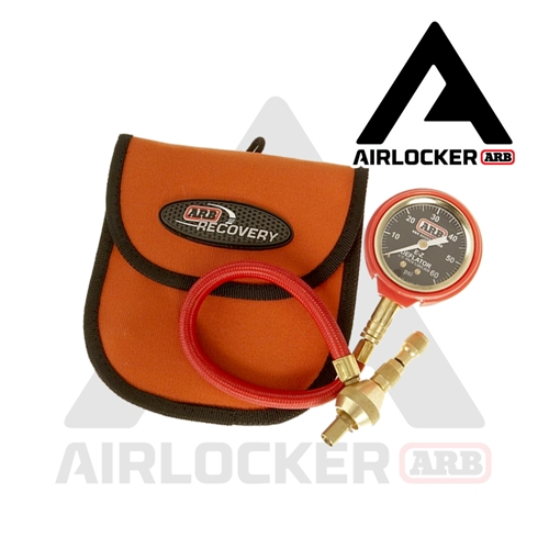 ARB E-Z Tire Deflator with Pressure Gauge #505