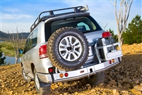 ARB LH Rear Tire Carrier Land Cruiser