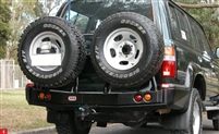 ARB RH Rear Tire Carrier Land Cruiser FJ80 FZJ80