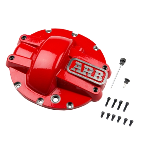 "ARB GM 8.5"" & 8.6"" 10 Bolt Rear, ARB Nodular Iron HD Diff Cover (Red Powdercoat)"