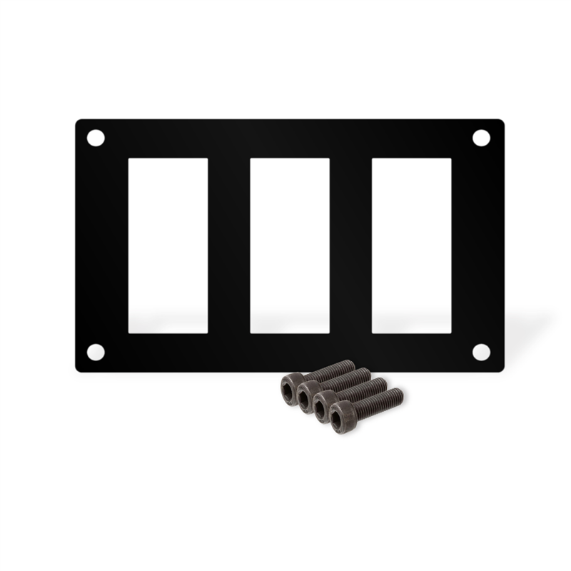 3 Position Switch Mount Plate