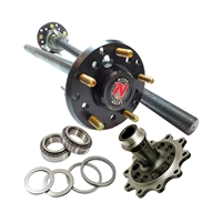 D44 Chromoly Rear Axle Shaft Bundle with 35 Spline Nitro Full Spool