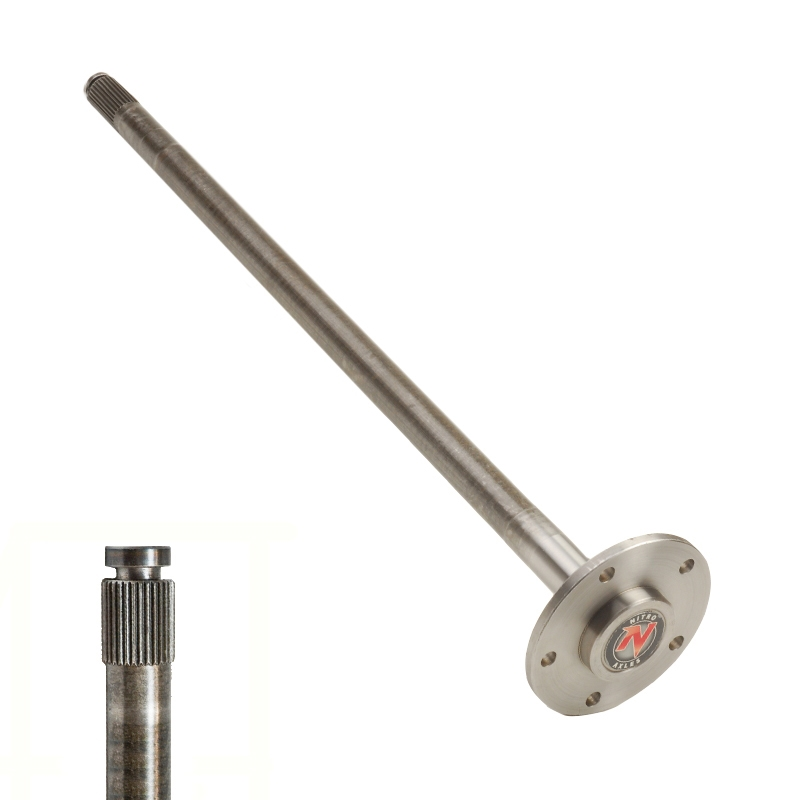 "GM 8.5"" 10 Bolt<br/>5X5 Lug, Rear Axle Shaft (3.055 Plt)<br/>28 Spline, 30-3/8"","