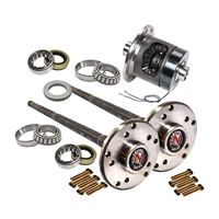 Nitro Axle Kit 30 Spl c/clip Axle Kit with Auburn Ected, MJ, TJ, XJ, YJ, ZJ for Dana 35