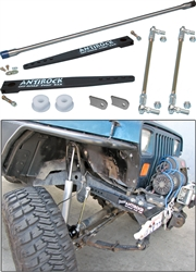 Currie Antirock Sway Bar Kit, Jeep Wrangler YJ Front