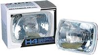 IPF H4 Rectangular Headlight Upgrade
