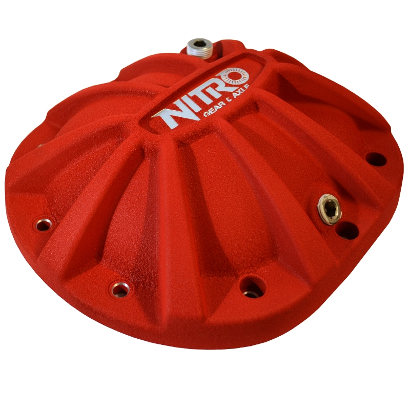 """Nitro Xtreme Aluminum Diff Cover Liberty Red Jeep Cherokee Chrysler 8.25/"""""""