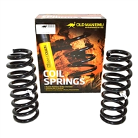Old Man Emu Rear Coil Springs, 00-06 Mitsubishi Montero 4 Door, Gas, Medium Load, 35mm Lift, (Pair)