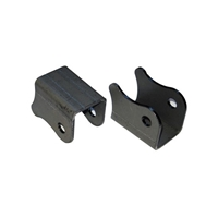 Shock Mounts Pair Pin Type Weld-On Steel by Performance Accessories