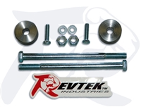 "1996-2004 Toyota Tacoma PreRunner 4WD (2""- 6"" lift) Front Differential Drop Kit by Revtek"