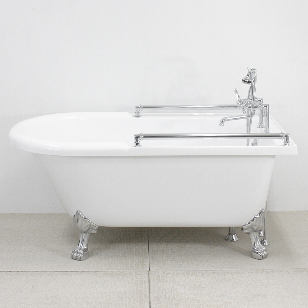 59 Towel Bar Clic Clawfoot Tub And