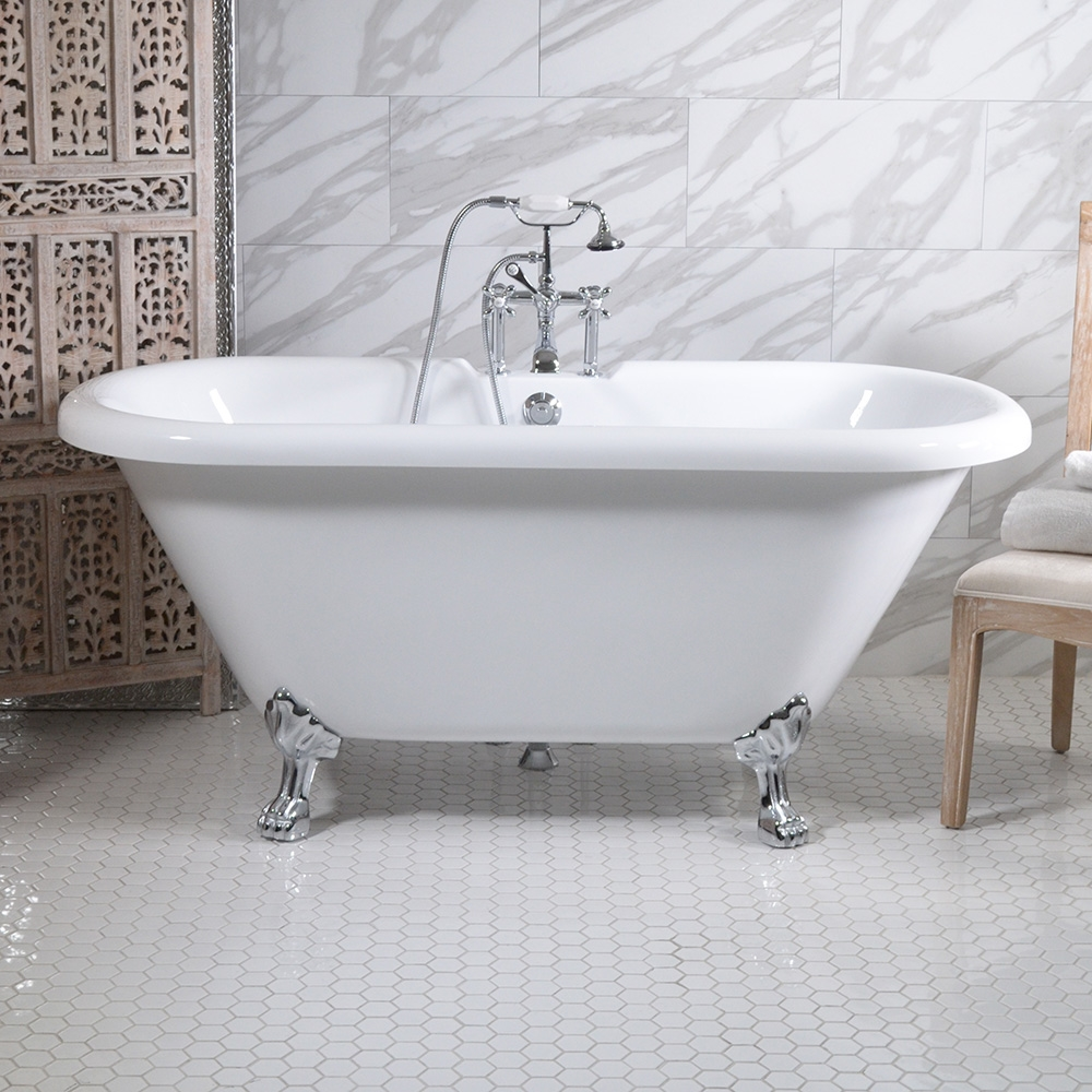 Hldbl59fpk 59 Quot Hotel Collection Double Ended Clawfoot Tub