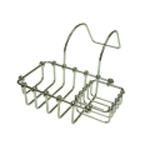 Chrome Bathtub Soap Basket