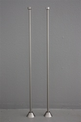<br>SL01BN Straight Supply Lines No Valves in Brushed Nickel Finish<br>