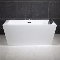 SanSiro 59inx34in End Drain Hydro Spa Bathtub