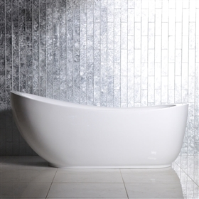 SanSiro Feronia 71in End Drain Water Jetted Tub