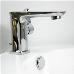 <br>Penhaglion 'No.49' Contemporary Lavatory Faucet with Pop-up Drain in Chrome