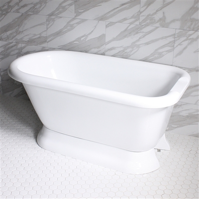 VTAFL59 59in Hot Air Massage Classic Style Tub