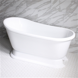 VTASW58 58in Hot Air Massage Swedish Slipper Tub