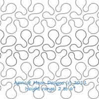 Digital Quilting Design Classic Stipple by Apricot Moon.
