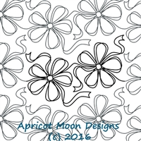 Digital Quilting Design Ribbons'n'Bows by Apricot Moon.