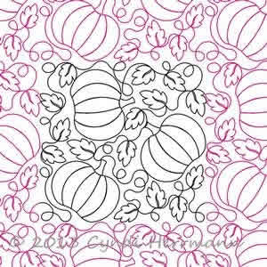 Cyndi's Pumpkin Patch E2E | Digital Quilting Designs : digital quilting - Adamdwight.com