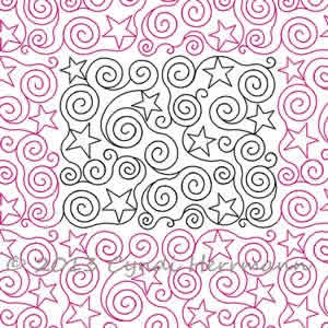 Stars a Swirl | Cyndi Herrmann | Digitized Quilting Designs : digital quilting - Adamdwight.com