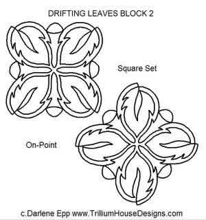 Drifting Leaves Block 2