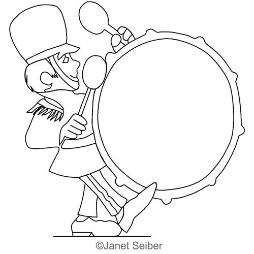 bass drum frame