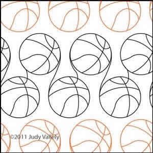 Digital Quilting Design Hoops by Judy Vallely.