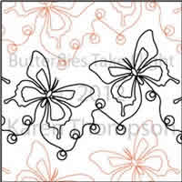 Digital Quilting Design Butterflies-Take-Flight by Karen Thompson.