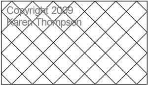 Crosshatch | Karen Thompson | Digitized Quilting Designs : cross hatch quilting - Adamdwight.com