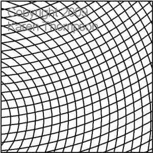 Curved Crosshatch | Karen Thompson | Digitized Quilting Designs : cross hatch quilting - Adamdwight.com
