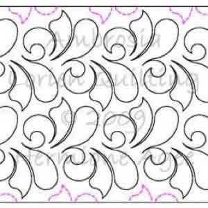 Digital Quilting Design Ambrosia by Lorien Quilting.