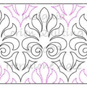 Digital Quilting Design Insignia by Lorien Quilting.