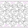 Digital Quilting Design Belladonna by Lorien Quilting.