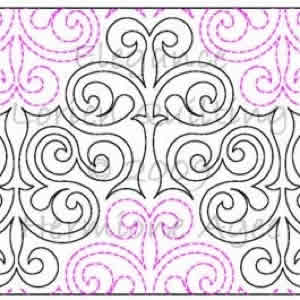 Digital Quilting Design Lorien's Elegance by Lorien Quilting.
