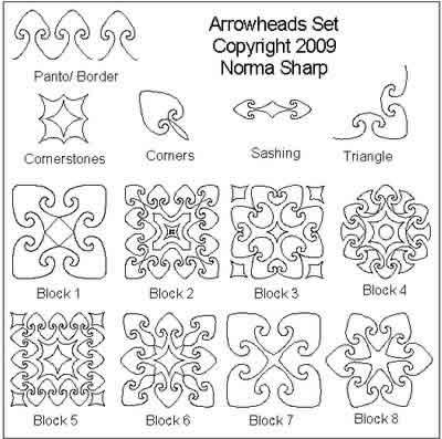 Norma's Fleur de Lis Set | Norma Sharp | Digitized Quilting Designs : fleur de lis quilt pattern - Adamdwight.com