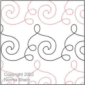 Digital Quilting Design Music by Norma Sharp.