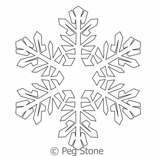 Snowflake 5 | Peg Stone | Digitized Quilting Designs : digital quilting - Adamdwight.com