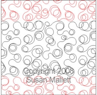 Digital Quilting Design Basic Scribble by Susan Mallett.