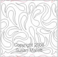 Digital Quilting Design Susan Mallett's Paisley by Susan Mallett.