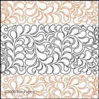 Digital Quilting Design Sue's Pantograph 22 by Sue Patten.