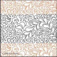 Digital Quilting Design Sue's Pantograph 26 by Sue Patten.