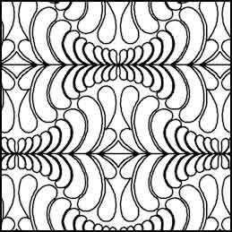 Digital Quilting Design Dense Edge to Edge 1 by Tammie Baggett.