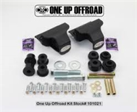 OUO Traction Bar Hardware Kit - Beside Frame Pivot Mounts With 601028 Blind Bolt Kit Included
