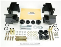 OUO 101029 Traction Bar Hardware Kit - Dodge No-Drill Mounts