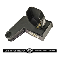 OUO UNIVERSAL 101236 6in, 2.5 Degree Traction Block with Removable Air Bag Bump Stops