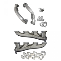 PPE 116111100 HIGH-FLOW RACE EXHAUST MANIFOLDS WITH UP-PIPES
