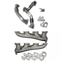 PPE 116112000 HIGH-FLOW EXHAUST MANIFOLDS WITH UP-PIPES
